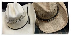 Cowboy Hats Bath Towel