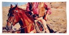 Cowboy John Wayne Hand Towel