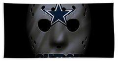 Cowboys War Mask 2 Hand Towel