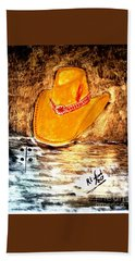 Cowgirl Hat Hand Towel