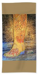 Cowgirl Western Boot Hand Towel
