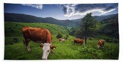 Cows Hand Towel