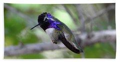 Coy Costa's Hummingbird Bath Towel