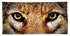 Cyote Eyes Hand Towel
