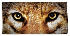 Cyote Eyes Bath Towel