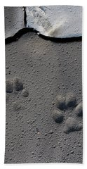 Coyote Tracks Hand Towel