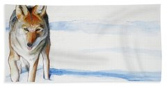 Coyote Trot Hand Towel