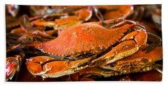 Crab Boil Bath Towel