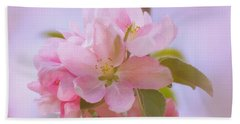 Crabapple Pink Hand Towel by MTBobbins Photography