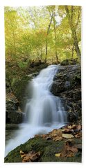 Crabtree Falls In The Fall Hand Towel