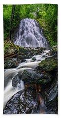 Crabtree Falls North Carolina Bath Towel