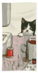 Crafty Cat #2 Hand Towel