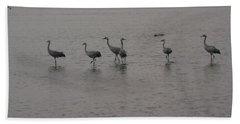 Cranes Hand Towel