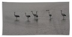 Cranes Bath Towel