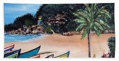 Crashboat Beach I Hand Towel