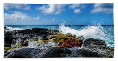 Crashing Waves Bath Towel