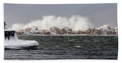 Crashing Waves Bath Towel