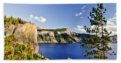 Crater Lake II Bath Towel