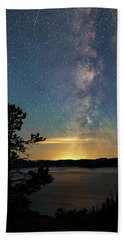Crater Lake Milky Way Bath Towel