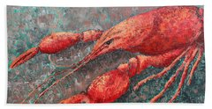 Crawfish Hand Towel