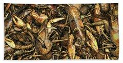 Crayfish Hand Towel by James Larkin