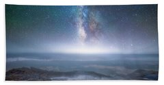Hand Towel featuring the photograph Creation by Darren White