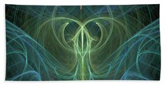 Hand Towel featuring the digital art Creative Energy by Ronda Broatch