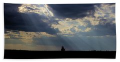 Crepuscular Rays Hand Towel