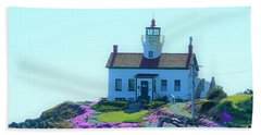 Crescent City Lighthouse Bath Towel