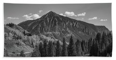 Crested Butte Bw Hand Towel