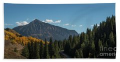 Crested Butte Panorama Hand Towel