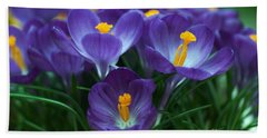 Crocus Hand Towel