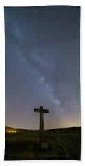 Bath Towel featuring the photograph Cross Over To The Milky Way by Bruno Rosa