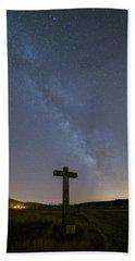 Cross Over To The Milky Way Hand Towel