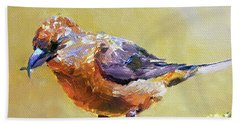 Crossbill Hand Towel
