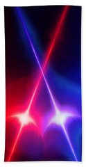 Crossed Light Sabers Hand Towel