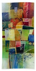 Crossroads 2 Hand Towel by Hailey E Herrera