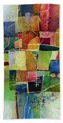 Crossroads 2 Bath Towel by Hailey E Herrera