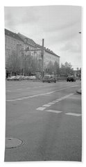 Crossroads In Prenzlauer Berg Hand Towel