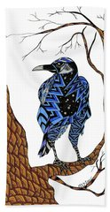 Crow Bath Towel