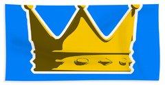Crown Graphic Design Hand Towel