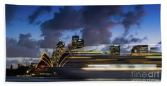 Cruise Ship Sydney Harbour Bath Towel