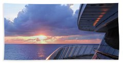 Cruising The Seas Bath Towel
