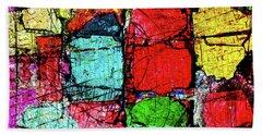 Crumbling Stone Wall Bath Towel by Don Gradner