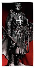 Crusader Warrior - Medieval Warfare Bath Towel