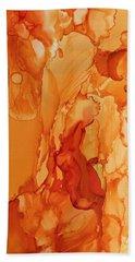 Orange Crush Hand Towel