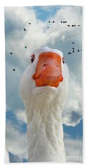 Cry Of The Wild Goose Bath Towel