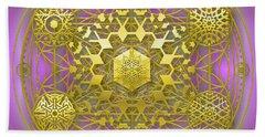 Crystal 1 Bath Towel by Robert Thalmeier
