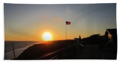 Crystal Cove 4th Of July Bath Towel by Dan Twyman