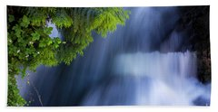 Crystal Creek Waterfalls Hand Towel